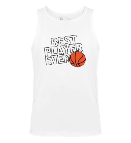 Мужская майка Best basketball player