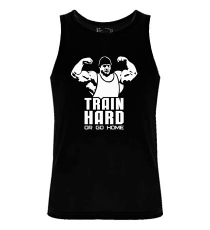 Мужская майка Train hard it easy