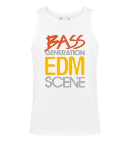 Мужская майка Bass generation EDM scene