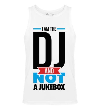 Мужская майка I am the DJ