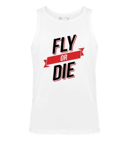 Мужская майка Fly or Die