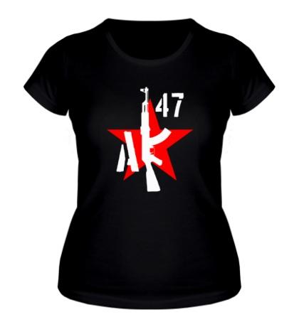 Женская футболка АК-47 мафия