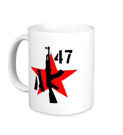 Керамическая кружка АК-47 мафия