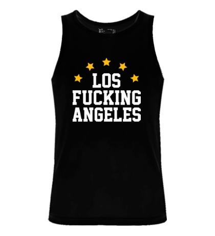 Мужская майка Los Fucking Angeles