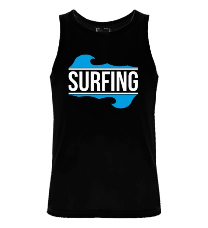 Мужская майка Surfing
