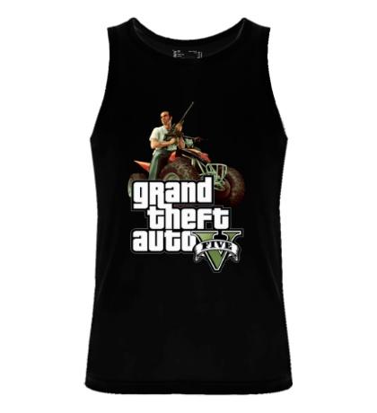 Мужская майка GTA 5: Gangster