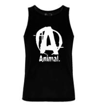 Мужская майка Animal Logo
