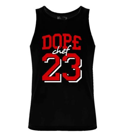 Мужская майка Dope chef 23