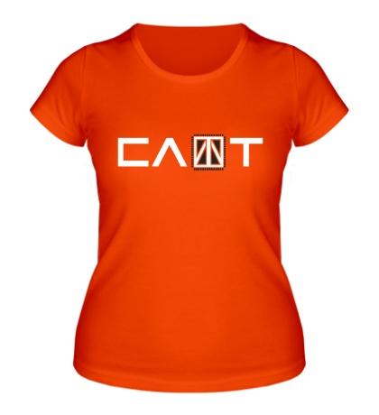 Женская футболка Слот