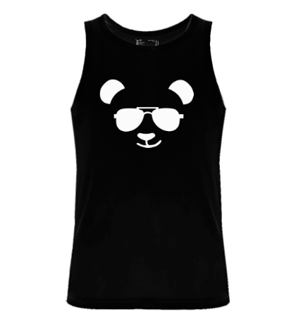 Мужская майка Крутая панда