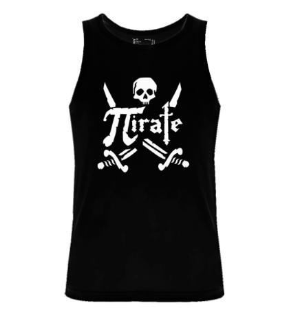 Мужская майка Pirate Symbol