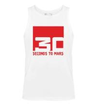 Мужская майка 30 Seconds To Mars Logo