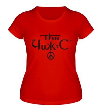 Женская футболка Чиж