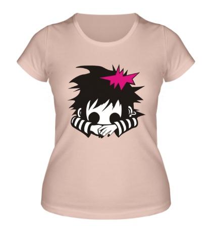Женская футболка Эмо Гёрл