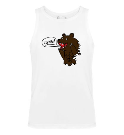 Мужская майка Медведь качок