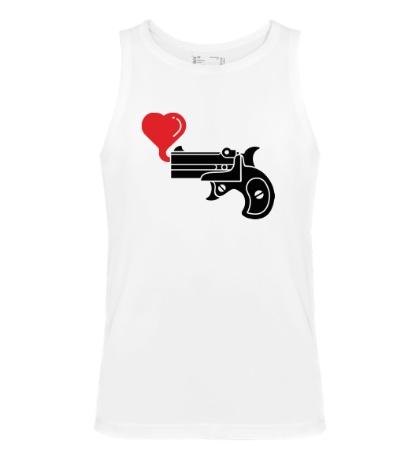 Мужская майка Love gun