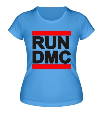 Женская футболка RUN DMC