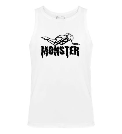 Мужская майка Moto Monster