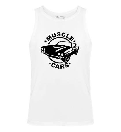 Мужская майка Muscle cars