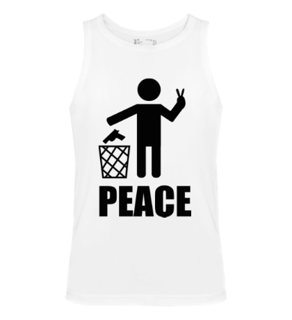 Мужская майка Peace People