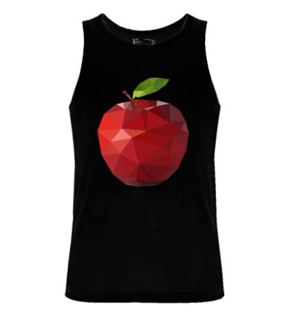 Мужская майка Абстрактное яблоко