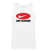 Мужская майка Just do Married