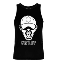 Мужская майка Gansta Rap