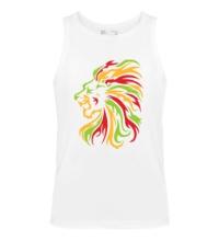 Мужская майка Огненный лев