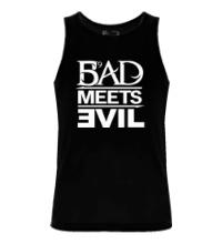 Мужская майка Bad Meets Evil