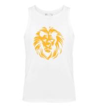 Мужская майка Царский лев