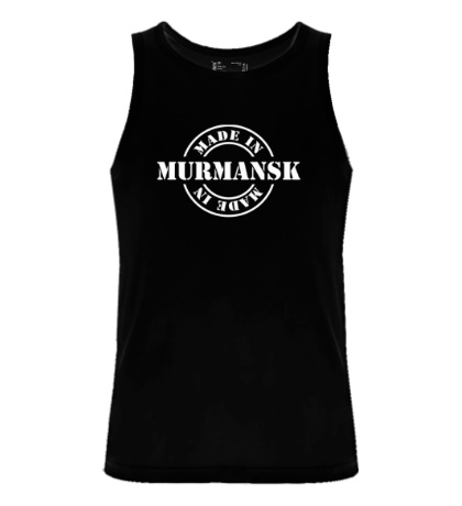 Мужская майка Made in Murmansk