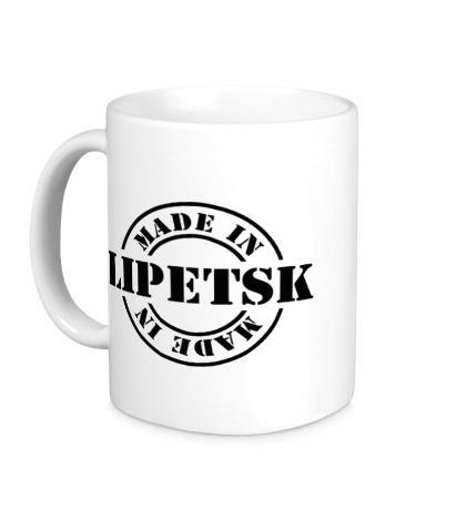 Керамическая кружка Made in Lipetsk