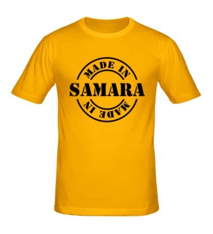 Мужская футболка Made in Samara