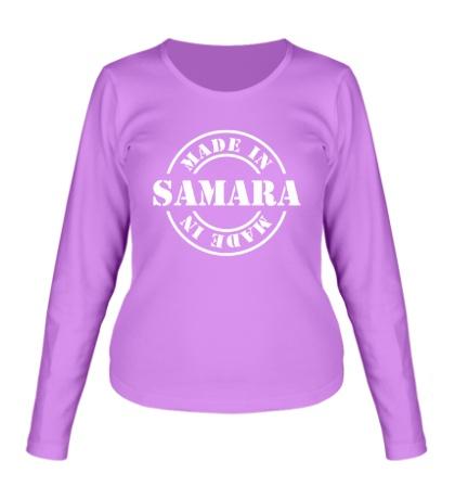 Женский лонгслив Made in Samara