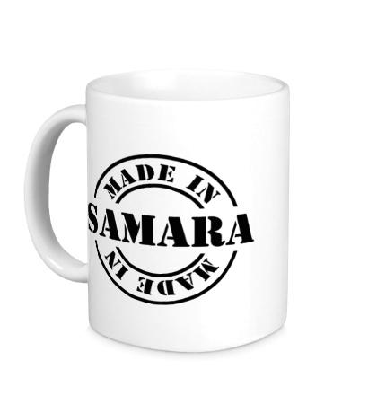 Керамическая кружка Made in Samara