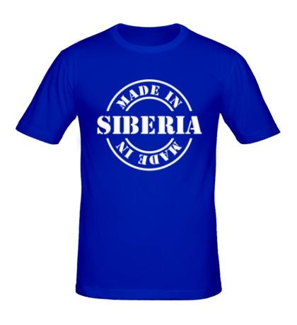 Мужская футболка Made in Siberia