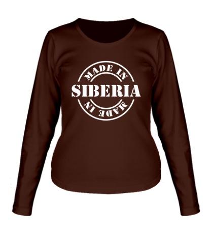 Женский лонгслив Made in Siberia