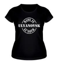 Женская футболка Made in Ulyanovsk