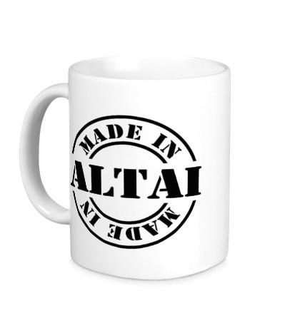 Керамическая кружка Made in Altai
