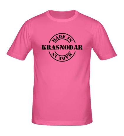 Мужская футболка Made in Krasnodar