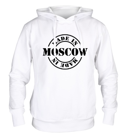 Толстовка с капюшоном Made in Moscow