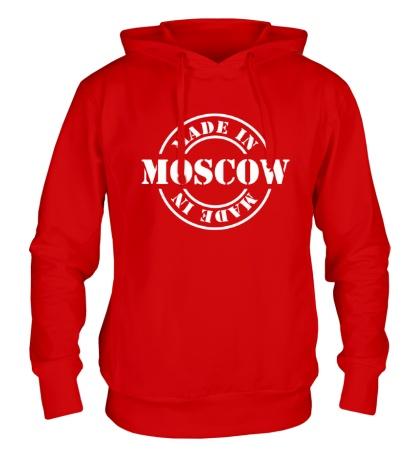 Толстовка с капюшоном Made in Moscow
