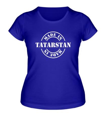 Женская футболка Made in Tatarstan