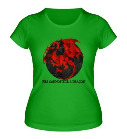Женская футболка Герб драконов