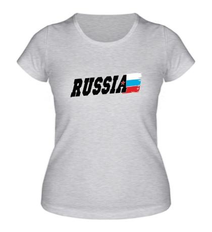 Женская футболка Fast Russia