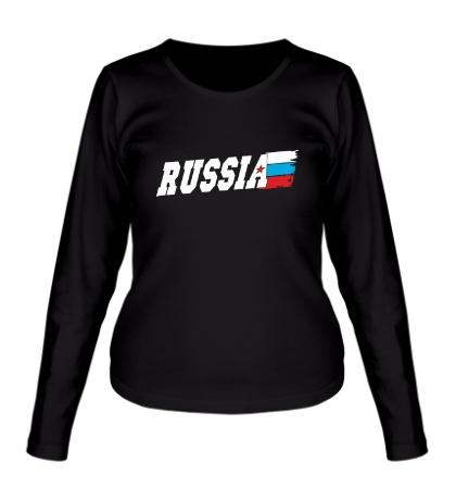 Женский лонгслив Fast Russia