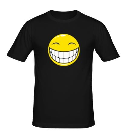 Мужская футболка Позитивный смайлик