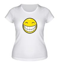 Женская футболка Позитивный смайлик