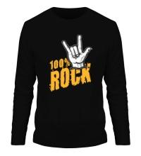 Мужской лонгслив 100% Rock
