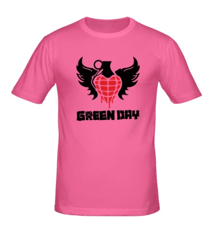 Мужская футболка Green Day Wings